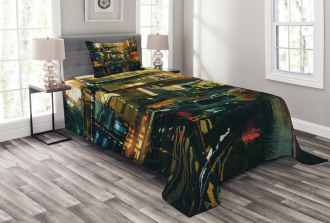 Metropolitan Colorful Bedspread Set