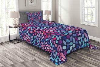 Watercolor Sketch Mosaic Bedspread Set