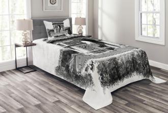 Auguste Vitu Monument Bedspread Set