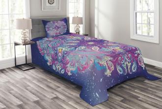 Spirituality Cosmos Art Bedspread Set