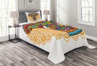 Ethnic Animal Bedspread Set
