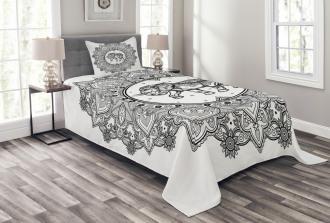 Power Symbol Bedspread Set