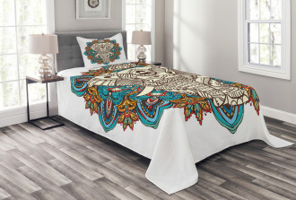 Temple Savior Bedspread Set
