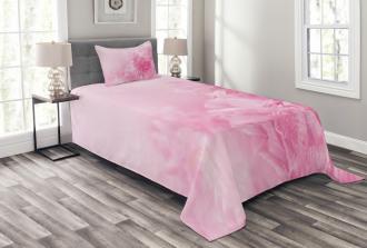 Spring Flora Shabby Bedspread Set