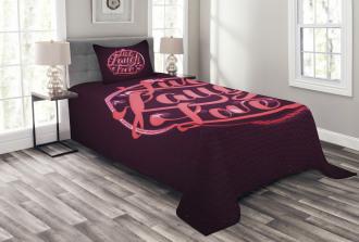 Vibrant Circle Bedspread Set