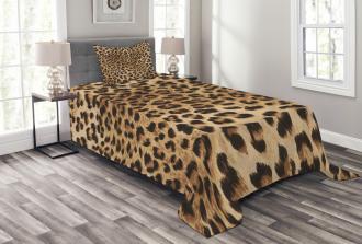 Wild Animal Skin Bedspread Set