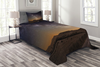 Desert of Bardenas Stars Bedspread Set