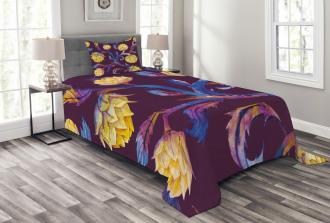 Vibrant Colored Vegan Bedspread Set