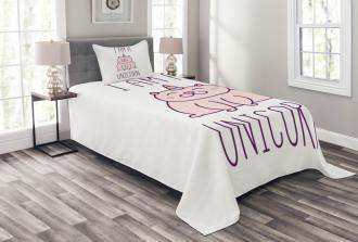 Fantastic Kitten Bedspread Set