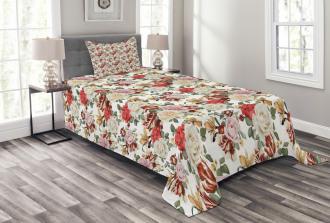 Bridal Feminine Spring Bedspread Set