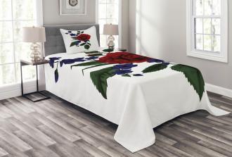 Rosebud Little Blossom Bedspread Set