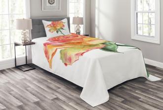 Lively Petals Botany Art Bedspread Set