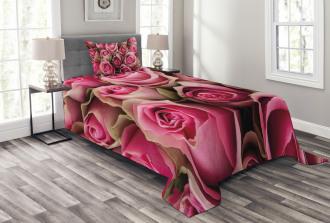 Fresh Festive Soft Bridal Bedspread Set