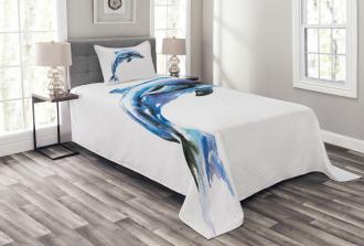 Ecological Theme Design Bedspread Set