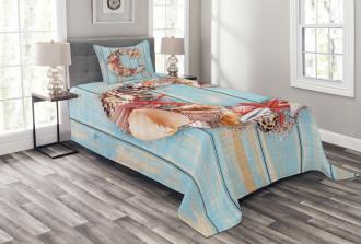 Marine Life Design C Bedspread Set