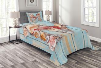 Aquatic Inspiation Art Bedspread Set