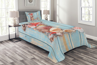Ocean Inspired Theme Bedspread Set