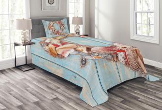 Nautical Animal Sea Bedspread Set