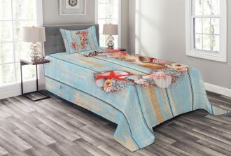 Tropic Rustic Summer J Bedspread Set