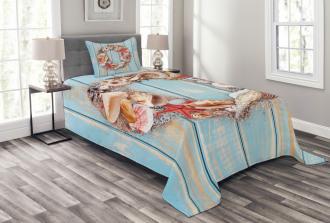 Nautical Life Inspired Bedspread Set