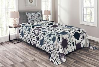 Antique Victorian Bedspread Set