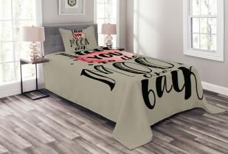 My Valentine Romance Bedspread Set