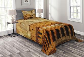 Roman Empire Concept Bedspread Set
