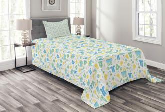 Vintage Inspired Infant Bedspread Set