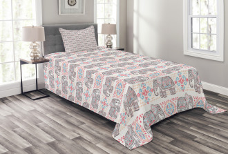 Boho Mexican Retro Bedspread Set