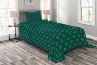 Retro Royal French Bedspread Set