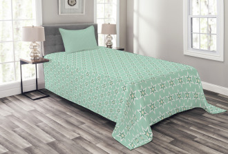 Monochrome Space Bedspread Set