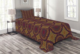 Tribal Art Mandala Bedspread Set