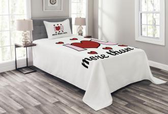 Special Message Bedspread Set