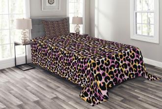 Wild Exotic Animal Bedspread Set
