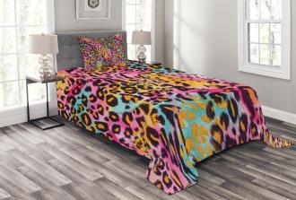 Mottled Camo Bedspread Set