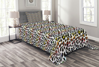 Colorful Mammal Bedspread Set