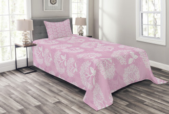 Hydrangea Blooms Bedspread Set