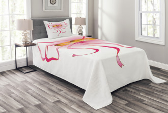 Rings and a Bow Tie Bedspread Set