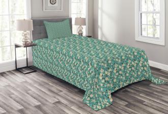 Flourishing Magnolia Bedspread Set
