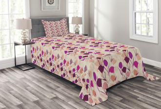 Carnations and Tulips Bedspread Set