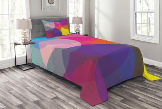 Colorful Circles Bedspread Set