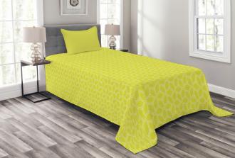 Abstract Juicy Lemons Bedspread Set