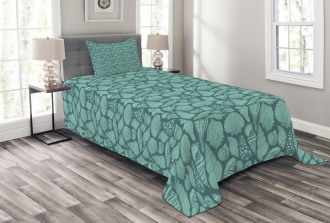 Marine Concept Elements Bedspread Set