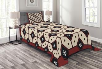 Javanese Batik Pattern Bedspread Set
