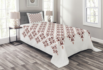 Indonesian Native Tile Bedspread Set