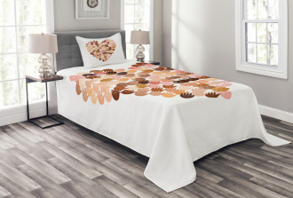 Hand Prints for Unity Bedspread Set