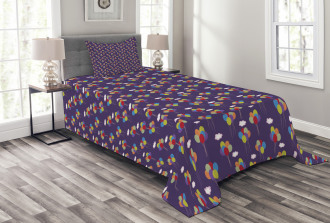 Festival and Birthday Bedspread Set