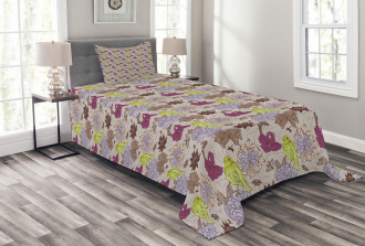 Papillon Butterflies Bedspread Set