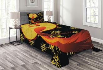 Phoenix and Foolmoon Bedspread Set