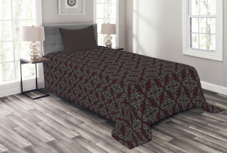 Abstract Baroque Bedspread Set